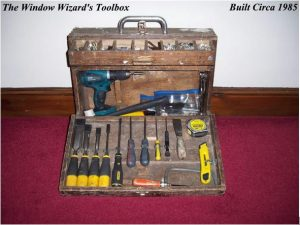 Double Glazing Repairman The Window Wizard Toolbox