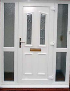 Leaks Gaps drafts upvc double glazed front door