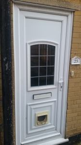 UPVC Front Door Cat Flap