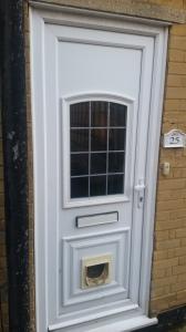 UPVC Front Door Cat Flap Swanley
