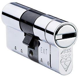 Anti-snap cylinder extra security