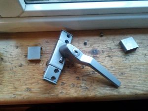 Discontinued UPVC Double Glazing Window Handle Lock Bexley