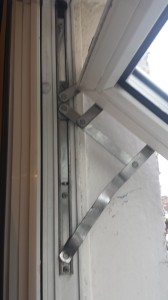Double Glazing Repairs Bent UPVC Window Hinge