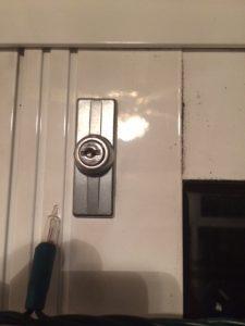 Discontinued Aluminium Door Lock shoot bolt key