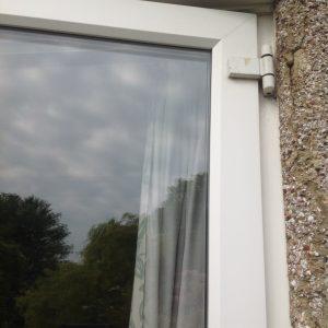 Discontinued UPVC double glazing door hinge repair